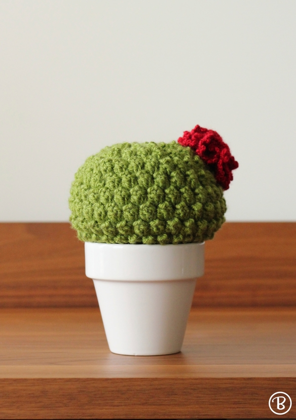 Amigurumi crochet bush basil