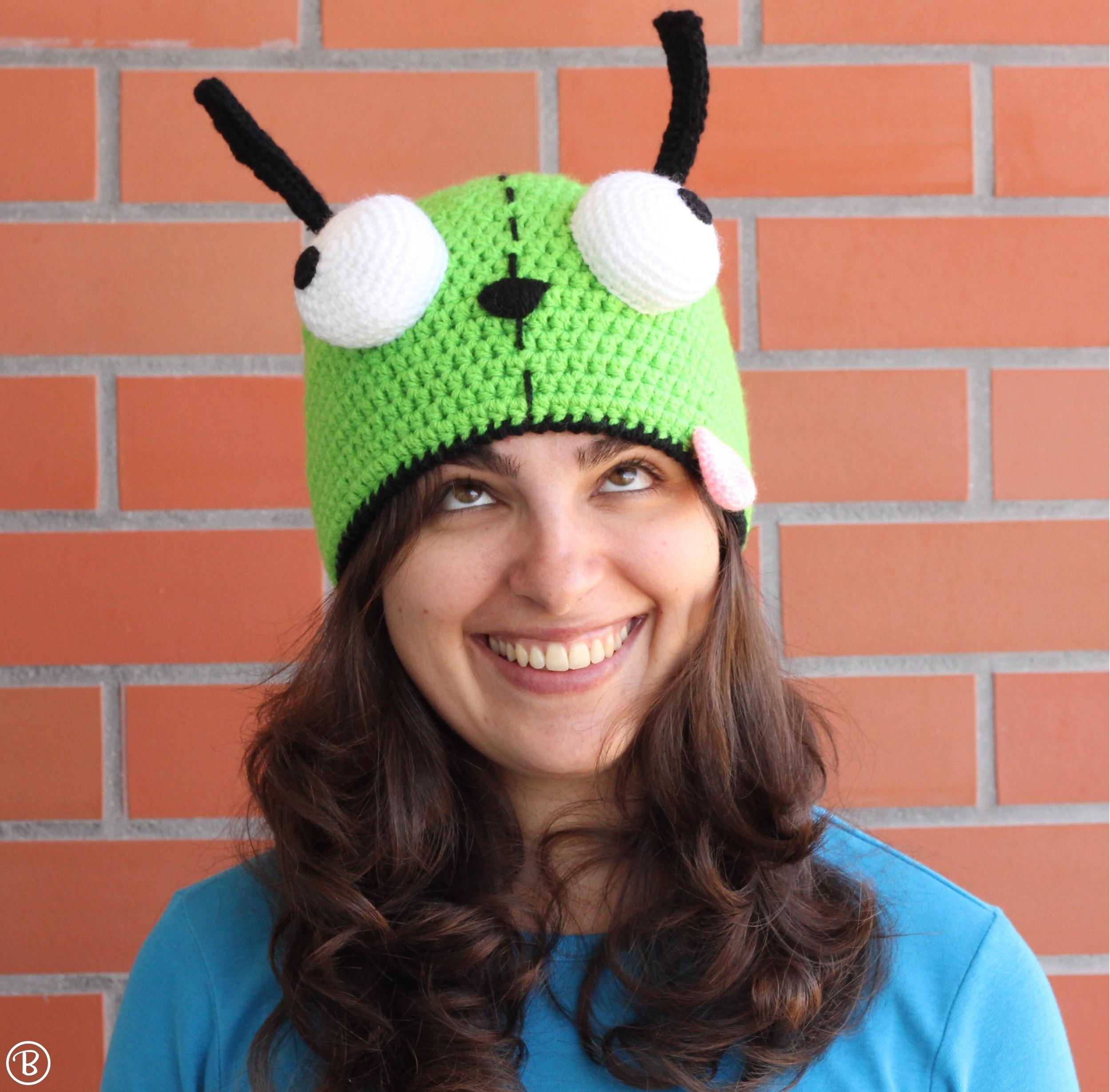 Gir crochet hat