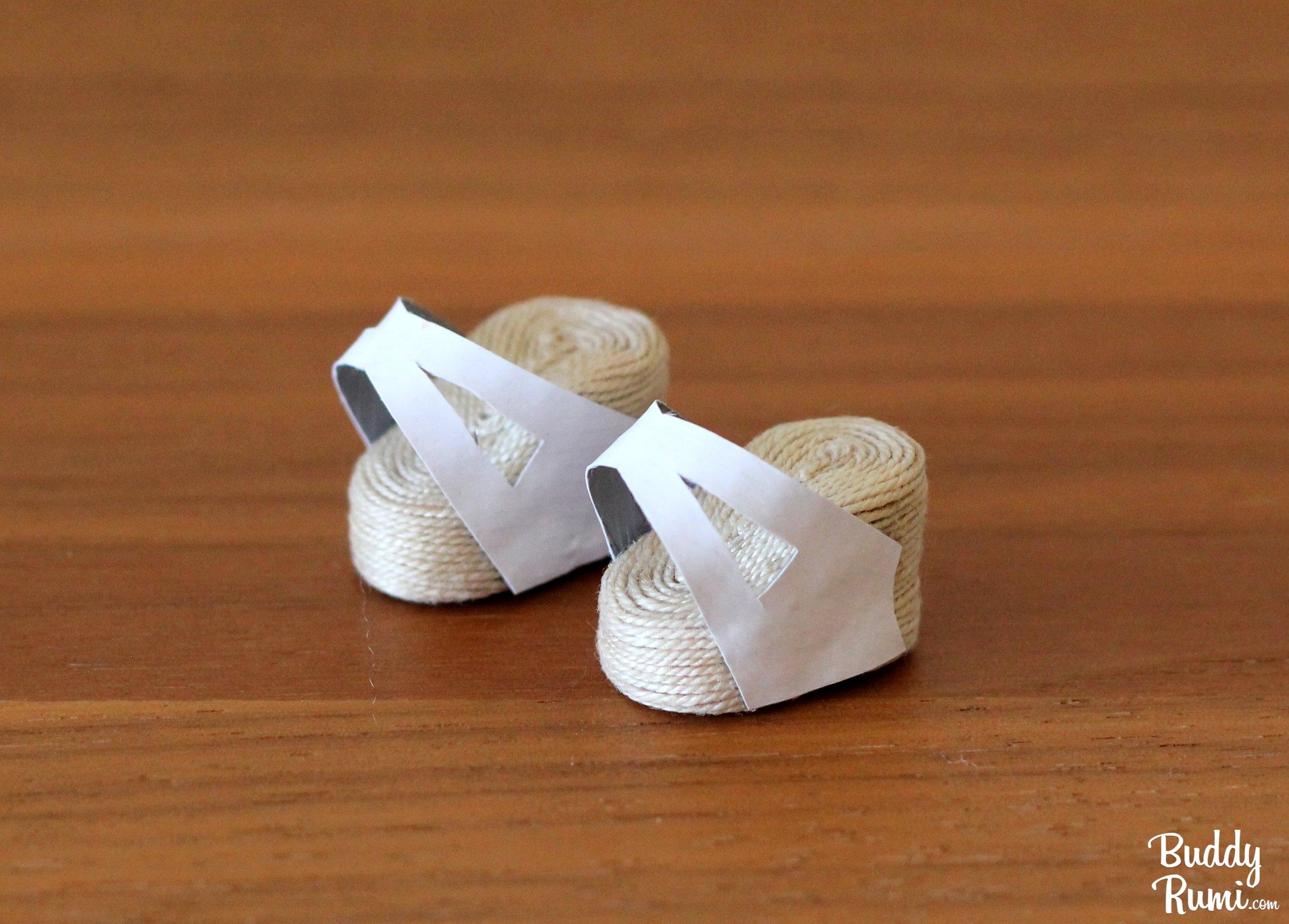 Mini doll sandals