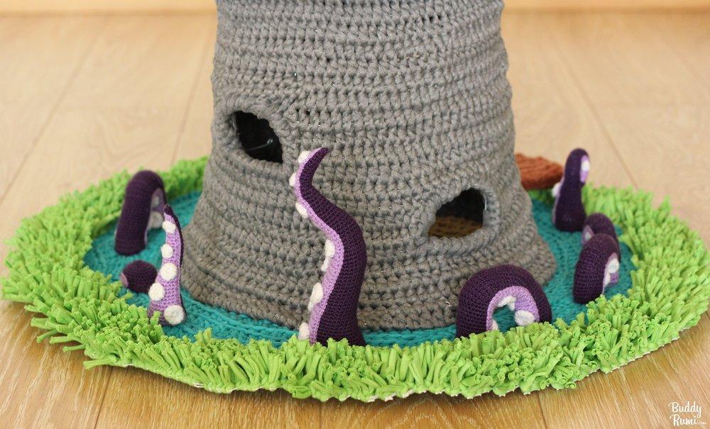 15+ Crochet Pet Bed Ideas | Styletic | 605x1000