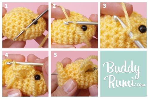 Little fish crochet toy