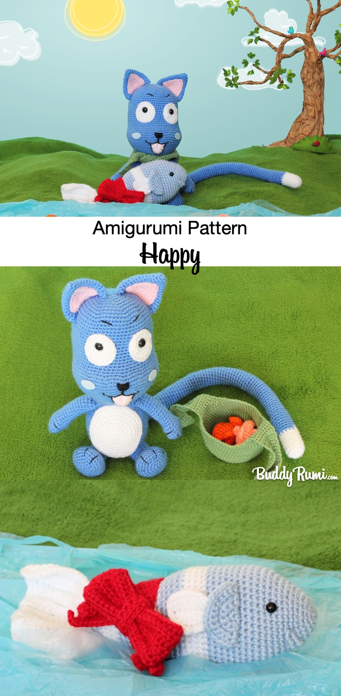 Happy amigurumi pattern