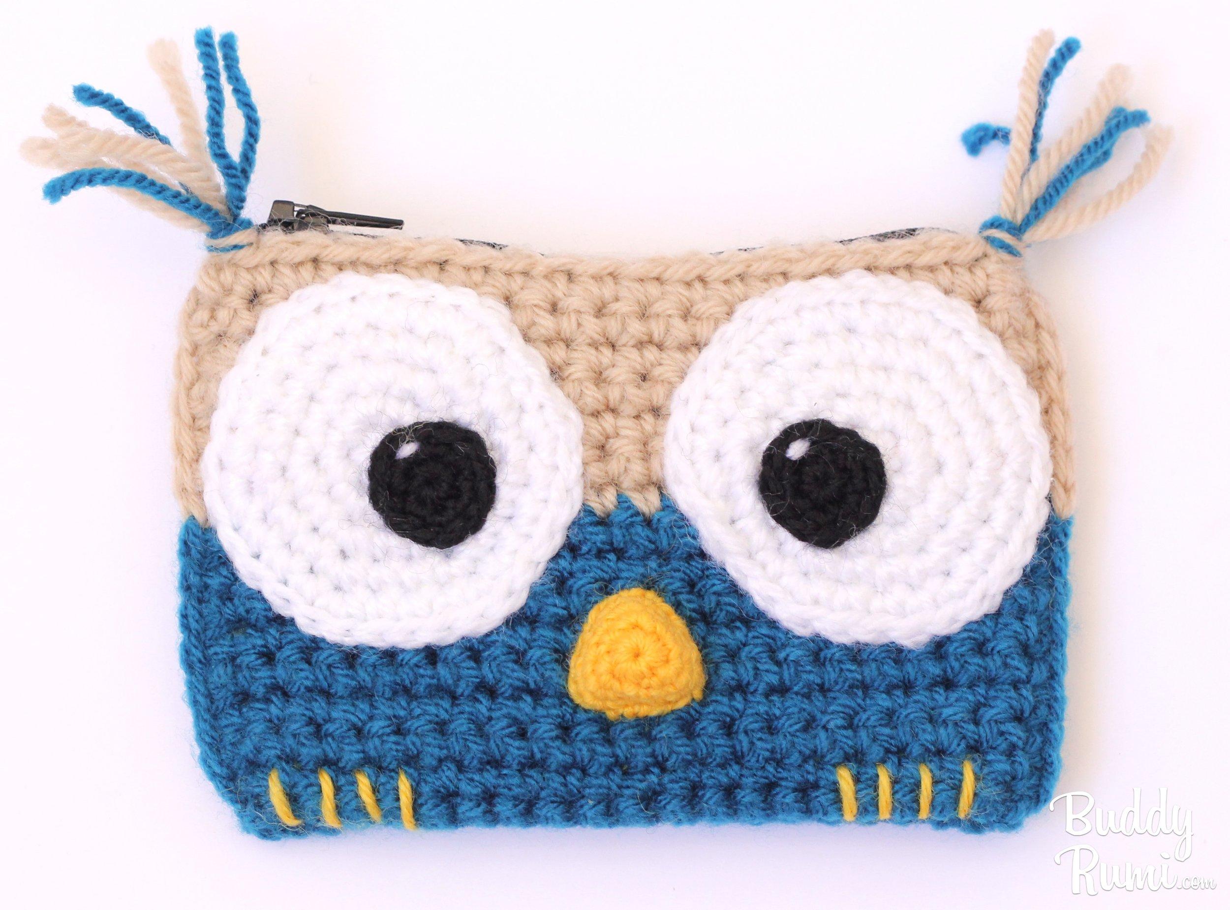 Crochet eyes for dolls