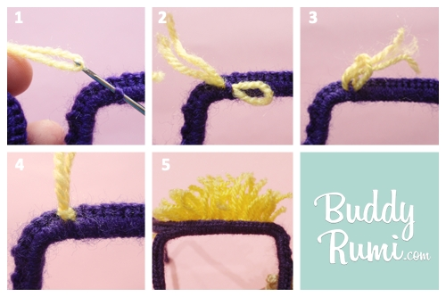 Crochet glasses disguise how to