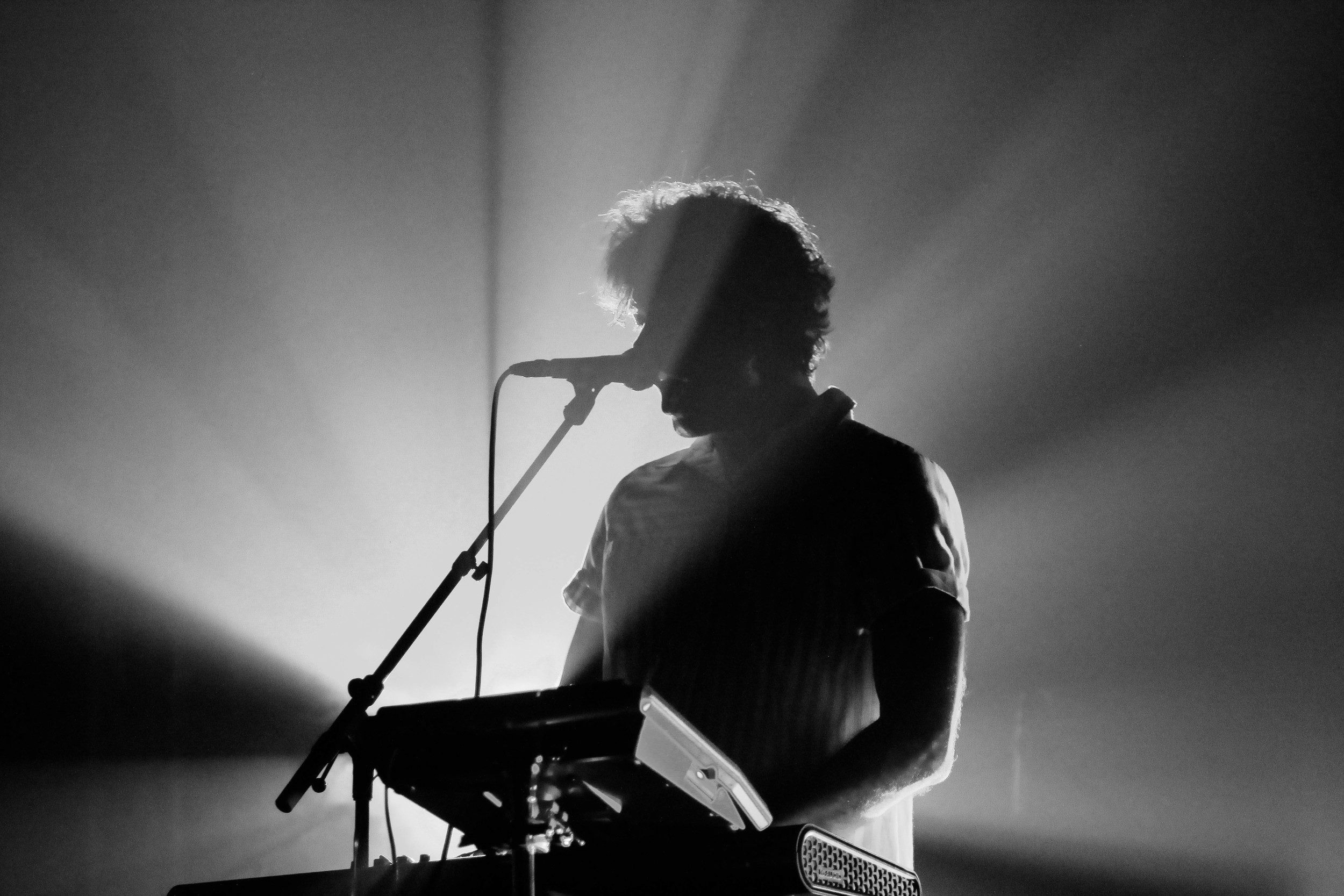 Ernest Green of Washed Out live at the Granada Theater, Dallas   September 8, 2014