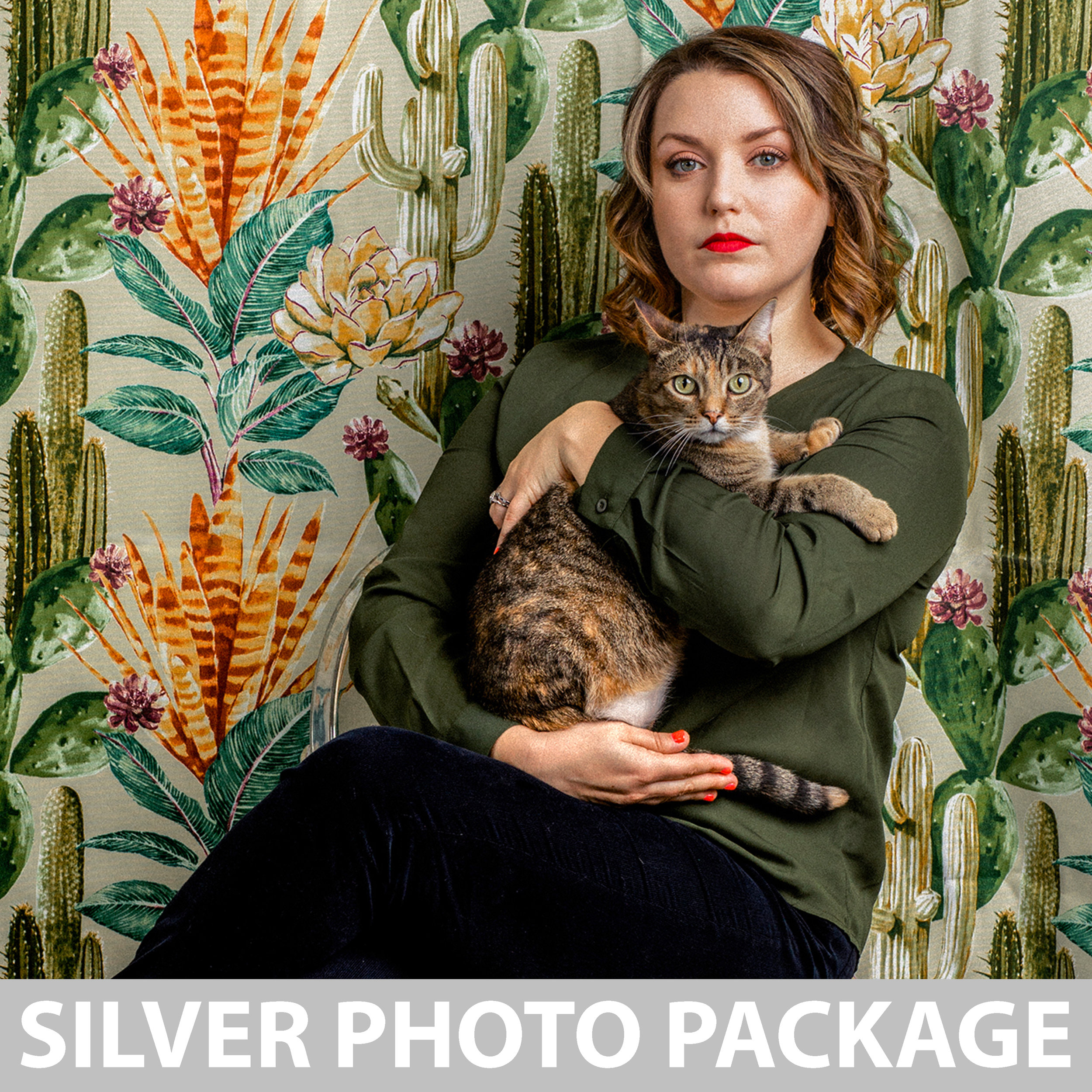 $125 - 30 minute studio session with custom backdrop, in a professional photo studio1 person + 1-2 pets3-5+ professionally edited & retouched photos