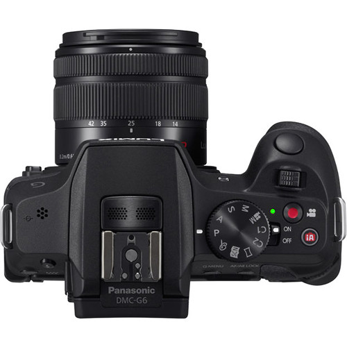 The Panasonic G6 is a great camera, but the hardware controls are sparse. Aperture, shutter speed and exposure compensation are all set via scroll wheels and require that you look at the screen to verify your setting.