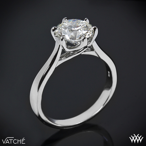 The Vatche Royal Crown setting I am considering. Picture this setting with a blue sapphire.