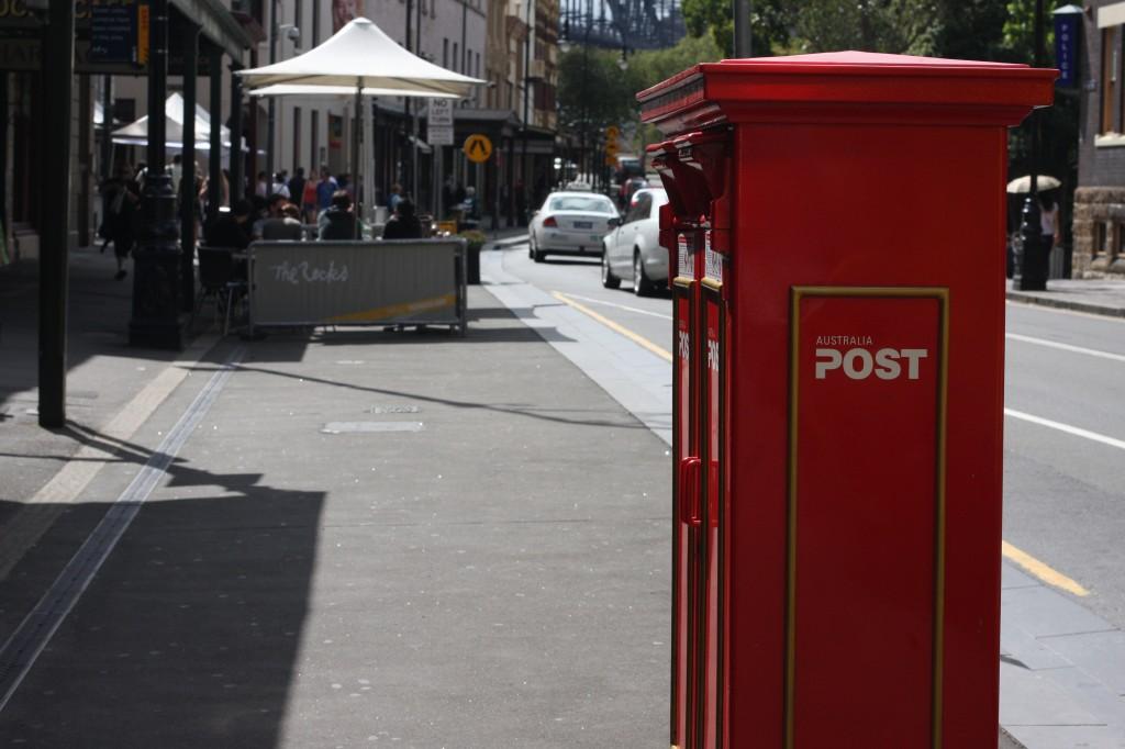 Iconic Australian Post box