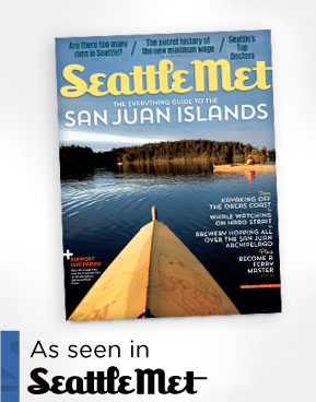 """Featured in the August 2014 Issue of Seattle Met: """"What the San Juan Islands Taste Like"""""""