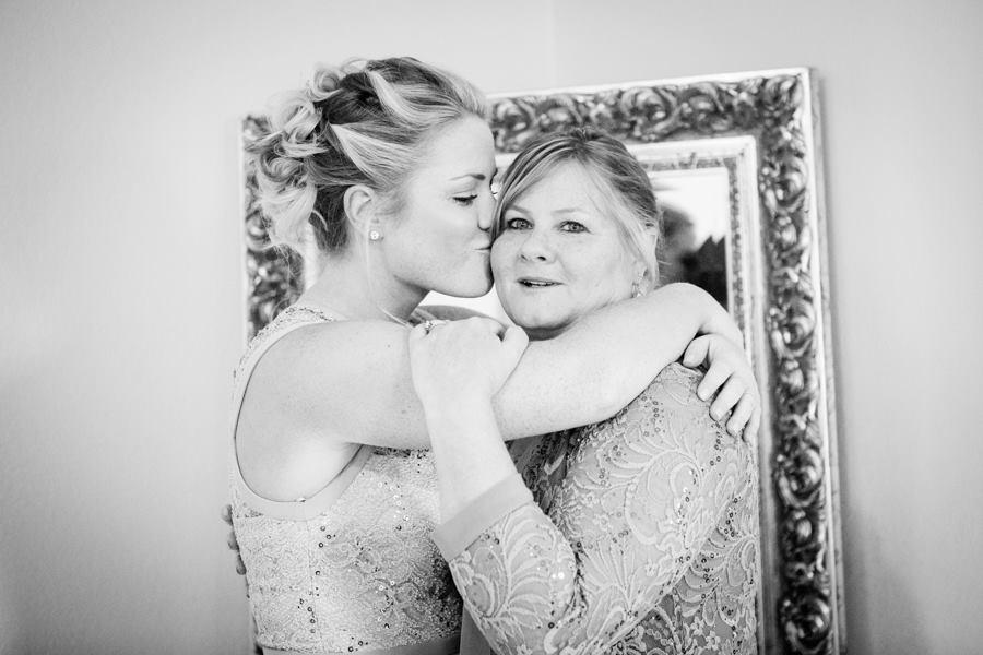 Bridal suite wedding day