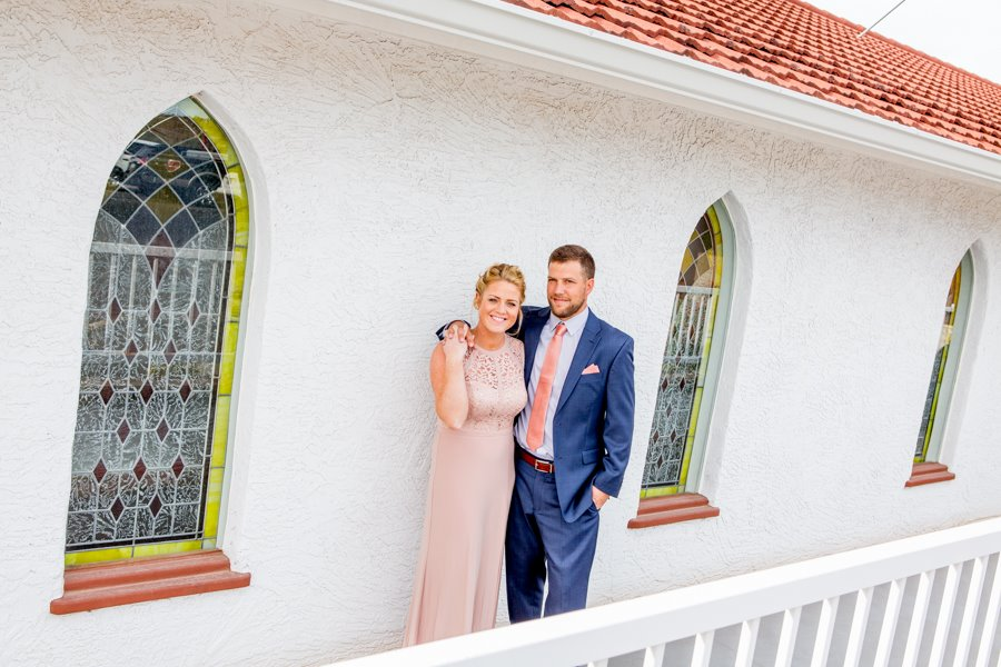 white wedding chapel