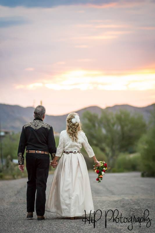 country wedding Arizona