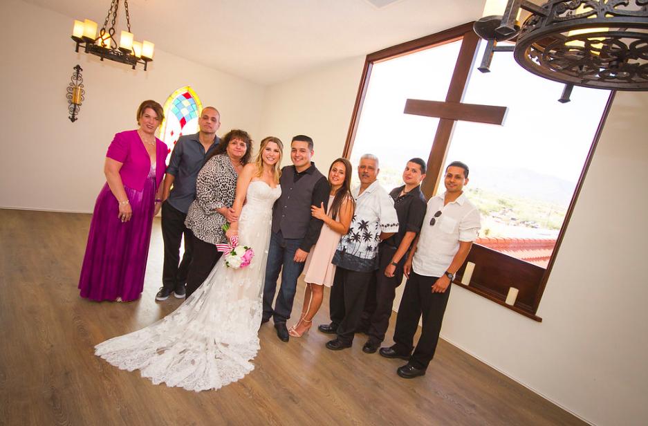 intimate wedding chapel in Arizona