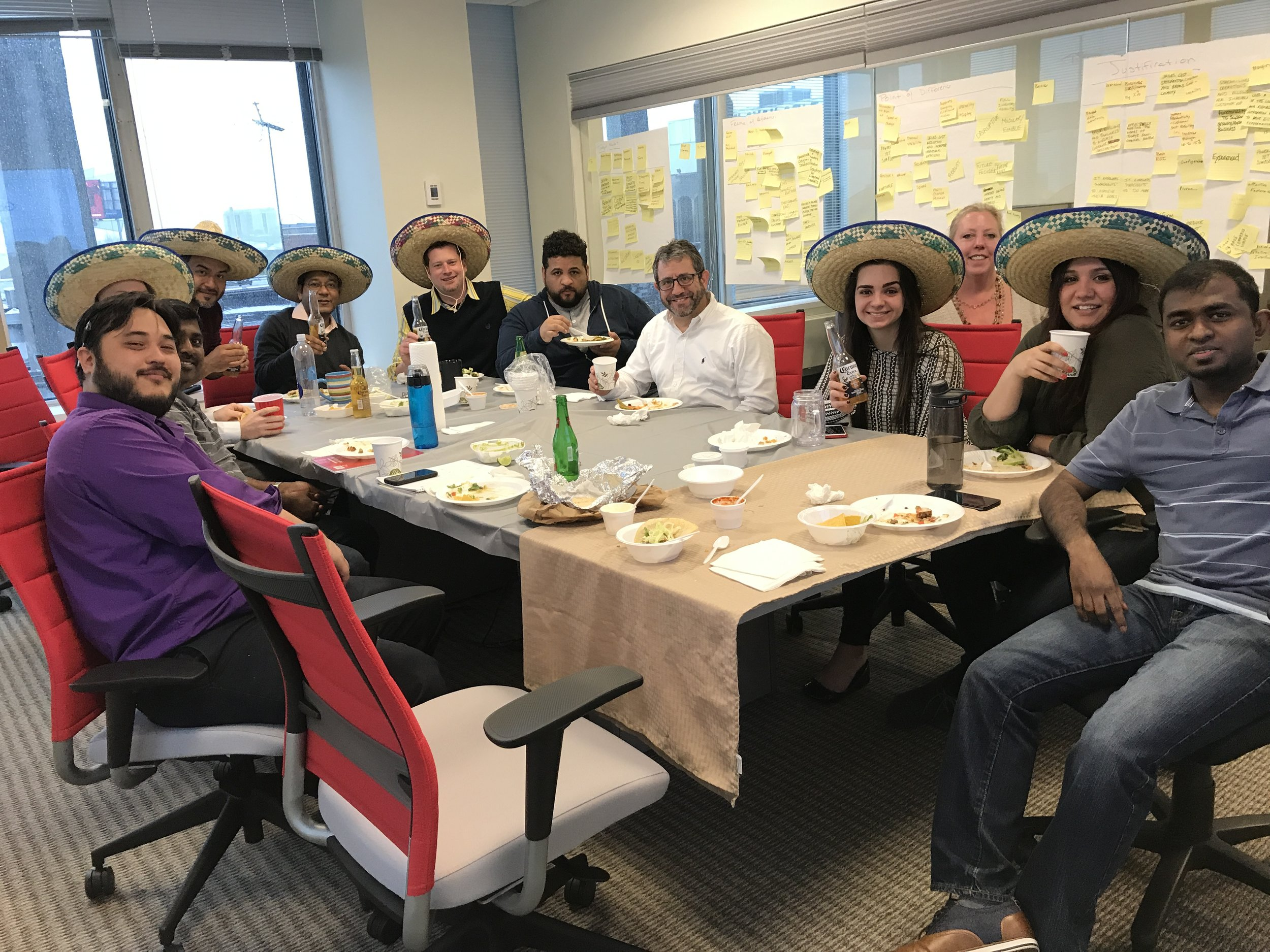 Celebrating Cinco de Mayo at Friday Lunch