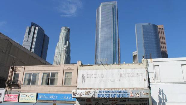 DTLA renaissance  Downtown L.A. boasts an idiosyncratic weave of mom-and-pop-style retail and gleaming office towers.