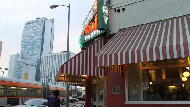 Serving since 1924  The Original Pantry Cafe, a classic U.S. diner that opened in 1924, is a neighbourhood fixture. DTLA has rebounded since the 2008 recession with both a commercial building boom and a high-density residential core.