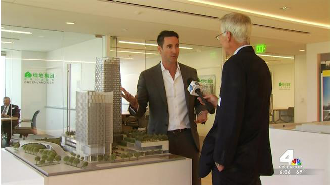 "In a few weeks, construction will begin on Metropolis, a development being called a ""city within a city"" in the downtown Los Angeles area. Patrick Healy reports from downtown Los Angeles for the NBC4 News at 6 on Tuesday, May 20, 2014."