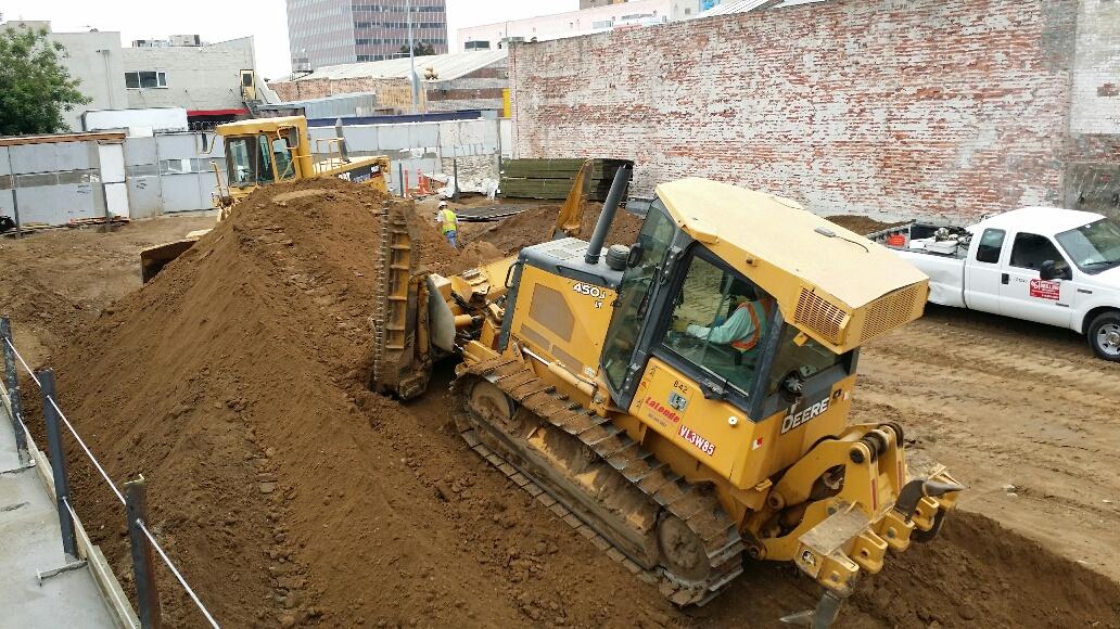 Construction is Underway in California