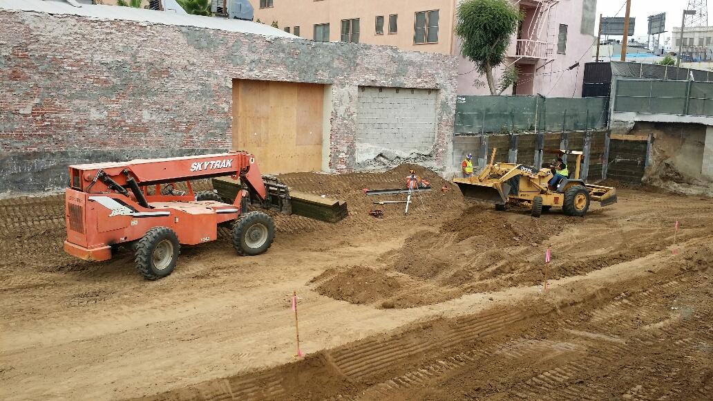 Construction Progress July 2014