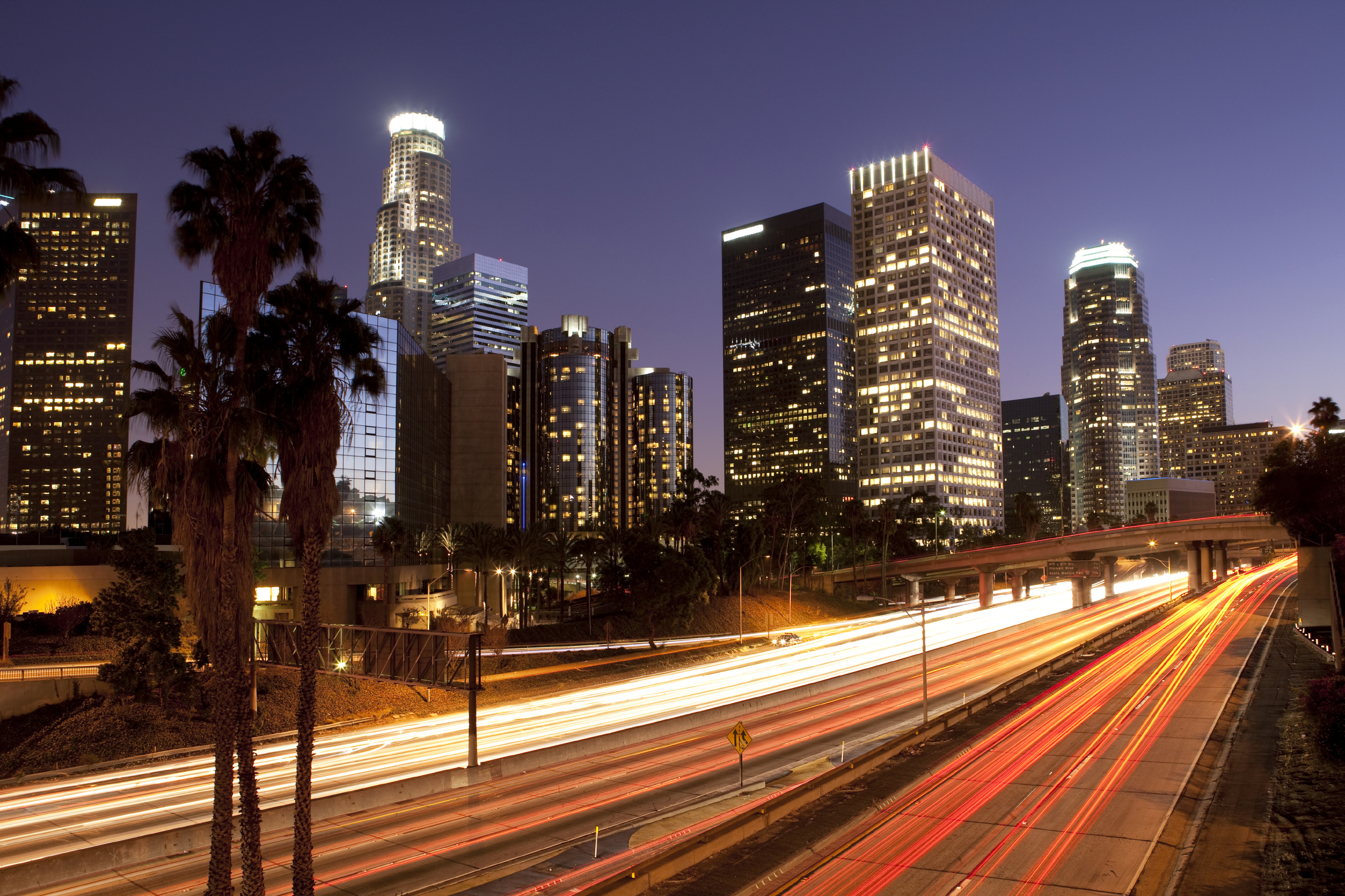 The Highly Desired Los Angeles Skyline