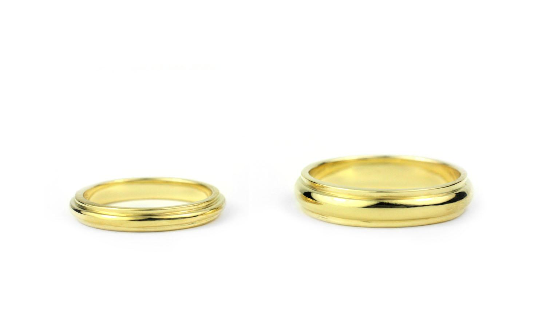 18 Kt Gold Bands Julius Cohen