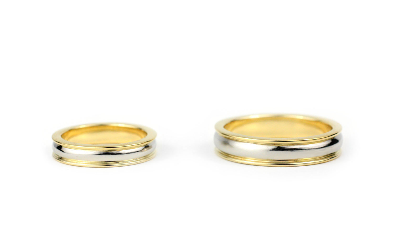 Platinum and Gold Bands