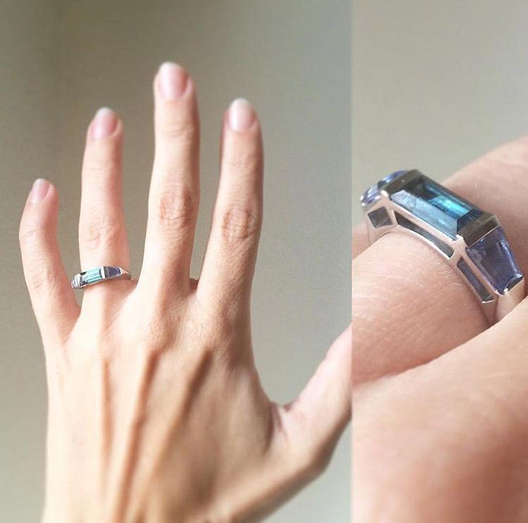 Sapphire Deco on Hand