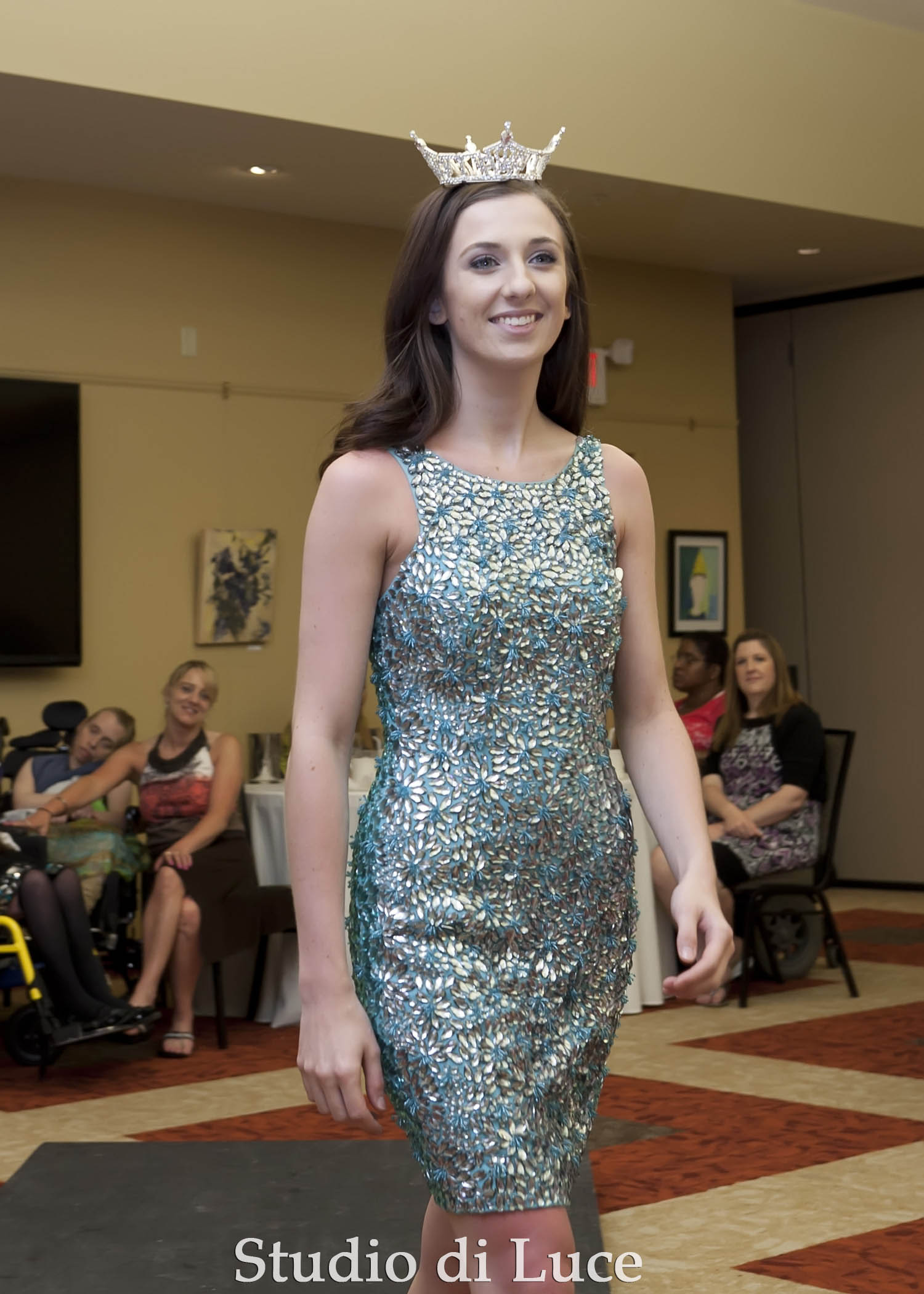 Miss Fulton County Emily Stegland.