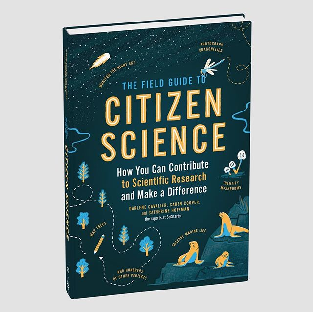 Super excited to see that the cover we designed and illustrated for @timberpress has been released! We can't wait to see how the whole thing looks in print, including the 26 spot illustrations we created for the interior. Super thanks to Adrianna Sutton and the authors for being amazing to work with. The book will be available in stores in 2020, and all of us should totally be on board with joining the citizen science movement! #citizenscience #timberpress #design #illustration #bookcover #nerdstuff #science #nature