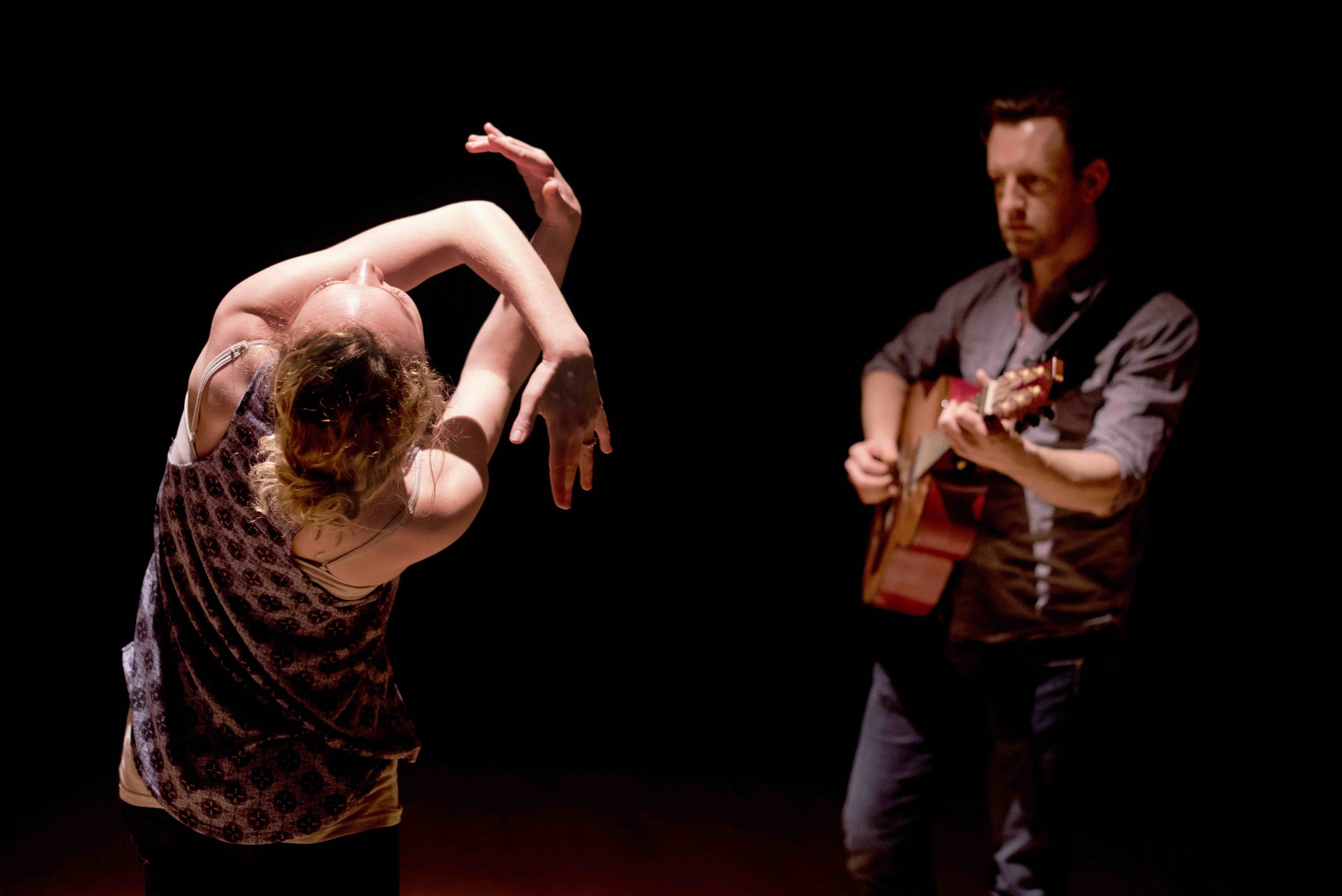 Tim Van Eyken & Dani B Larsen in 'Untitled' (Image by Camilla Greenwell)