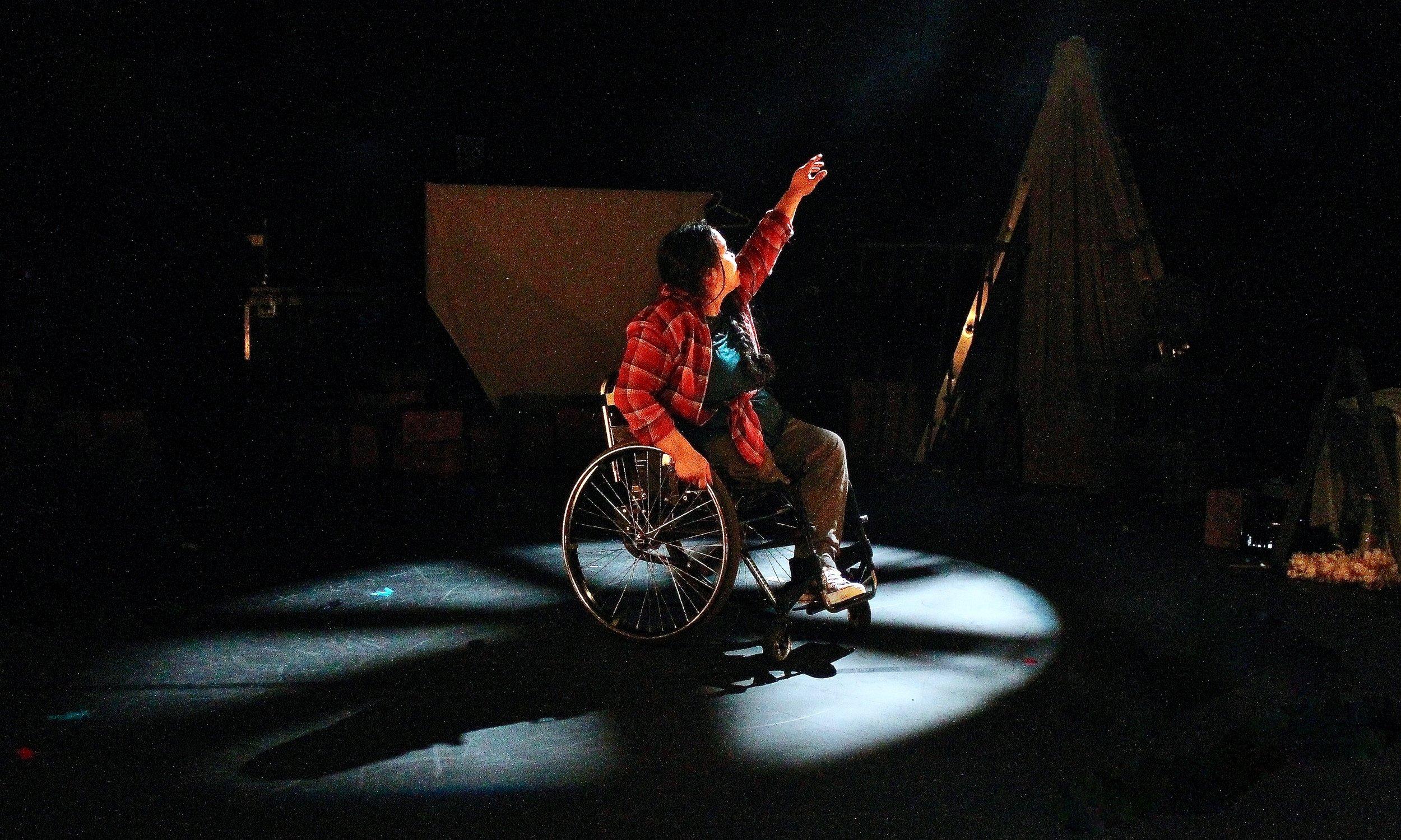 Laura Dajao in Night at the Theatre (Image: Rhiannon Williams)
