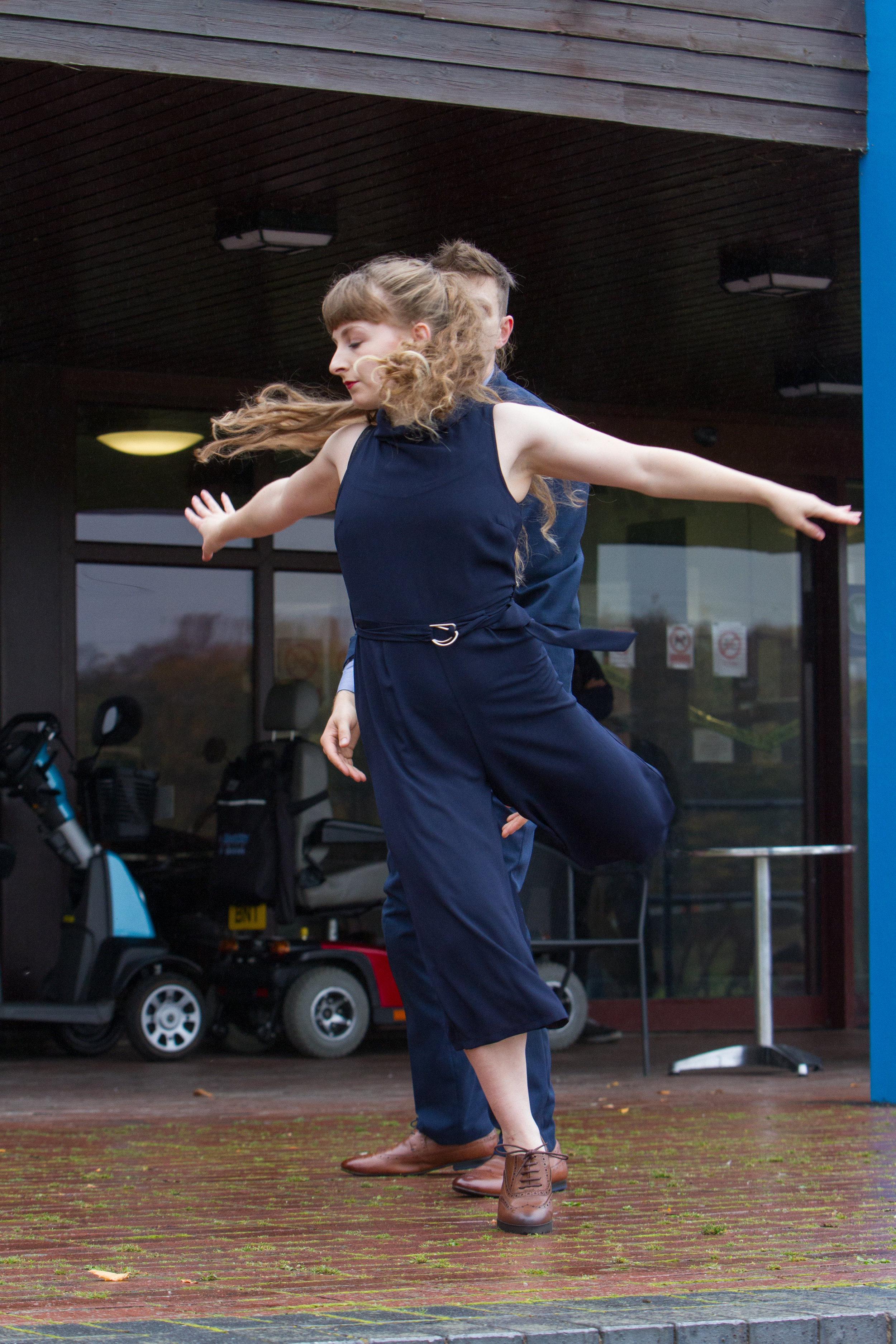 Alice in Dirtmarket's 'The Dancebombing Project' -Copyright DWC Imagery