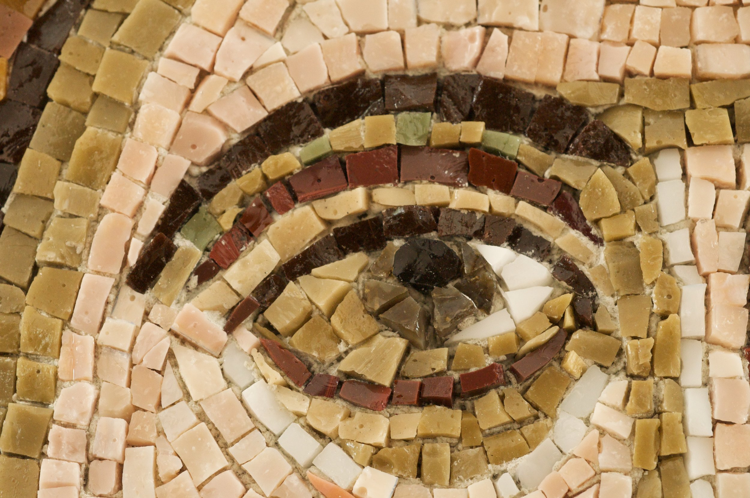 Sample of detail on our mosaics.