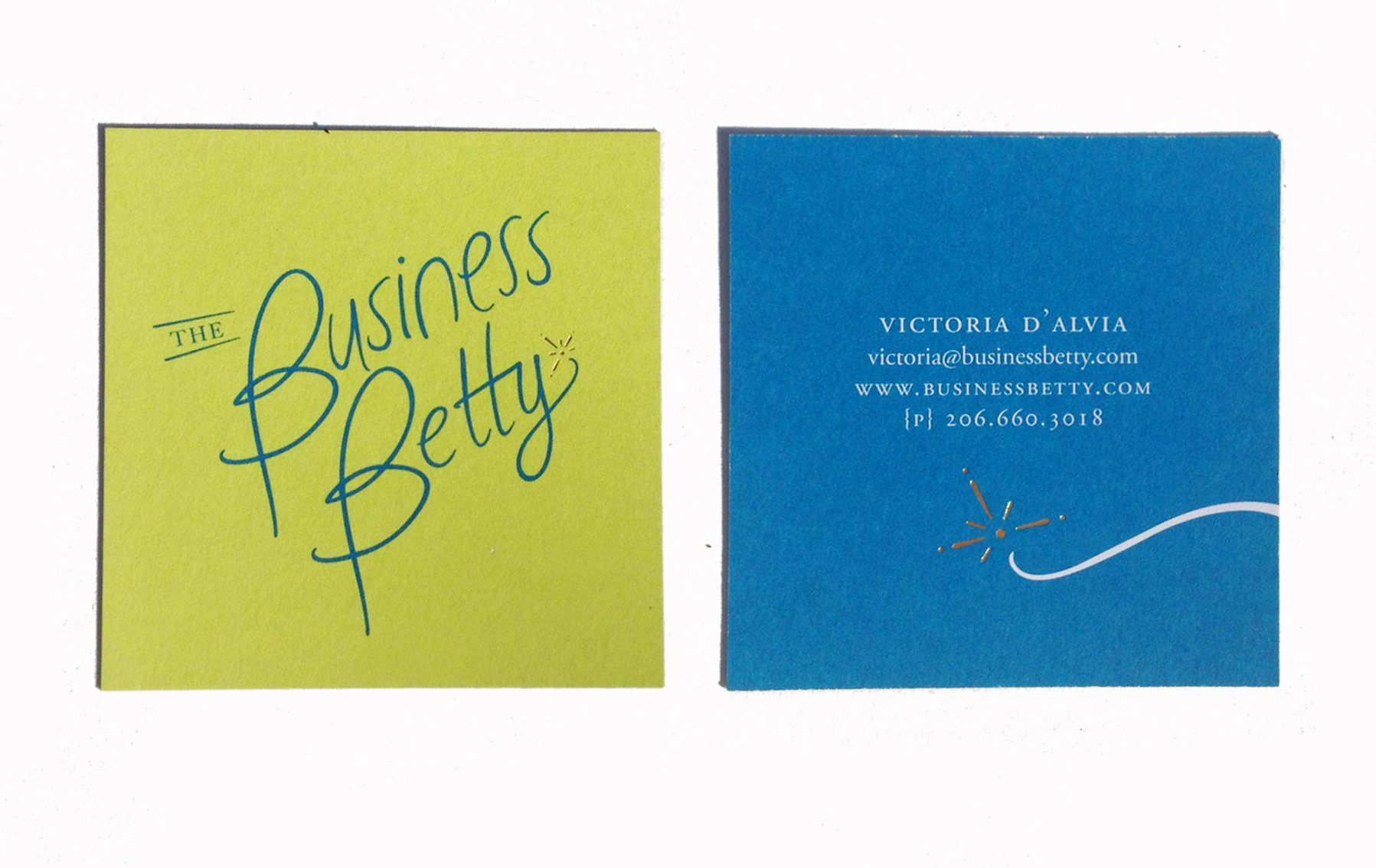 Business Betty Card