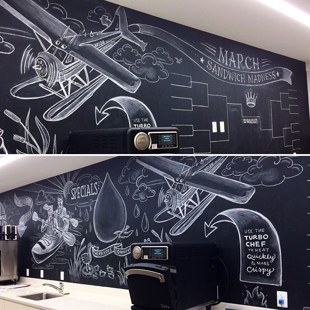 The Allen institute is using this sandwich madness board to choose a new regular sandwich. I had a ton of fun designing illustrations to tie it in to their south lake union/ spring theme