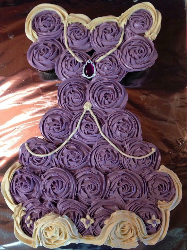 cupcake dress pull apart