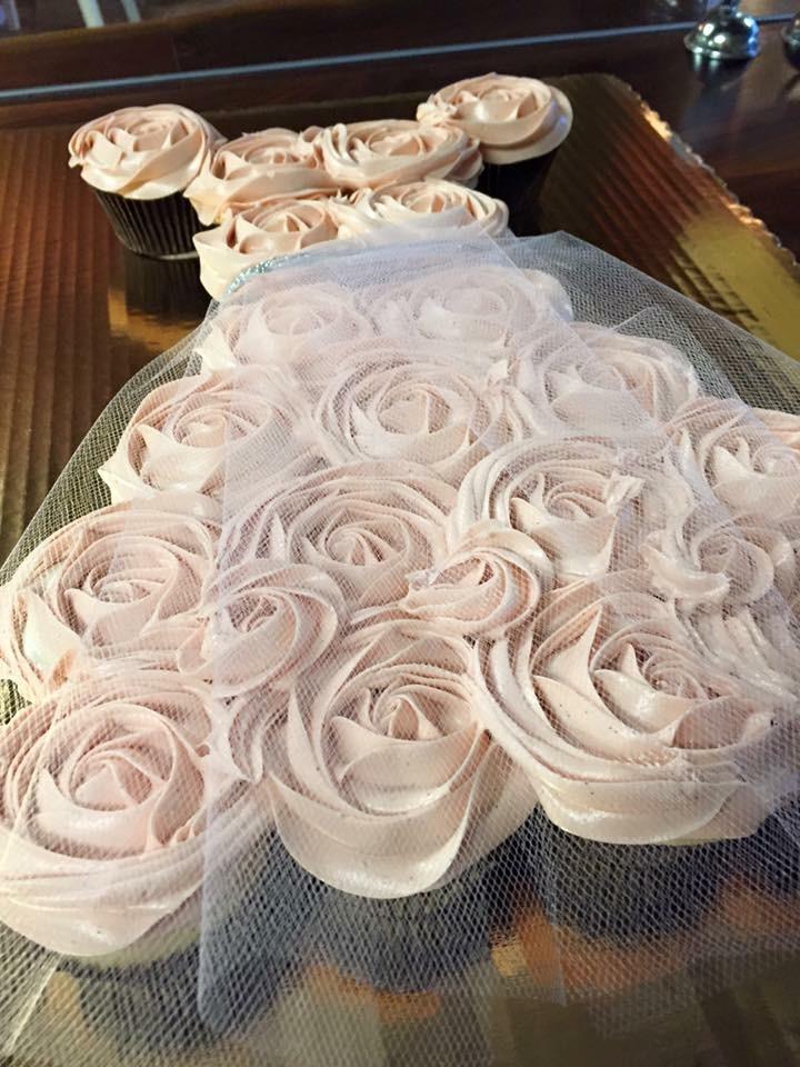 cupcake dress ballerina
