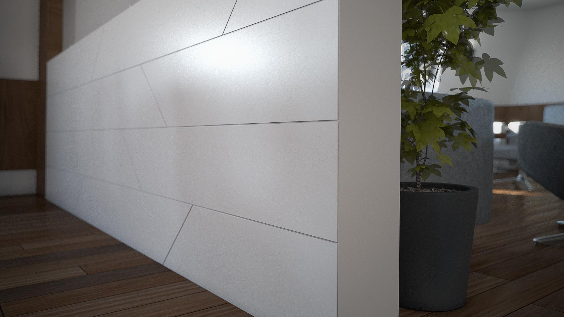 Detail - Wall devider