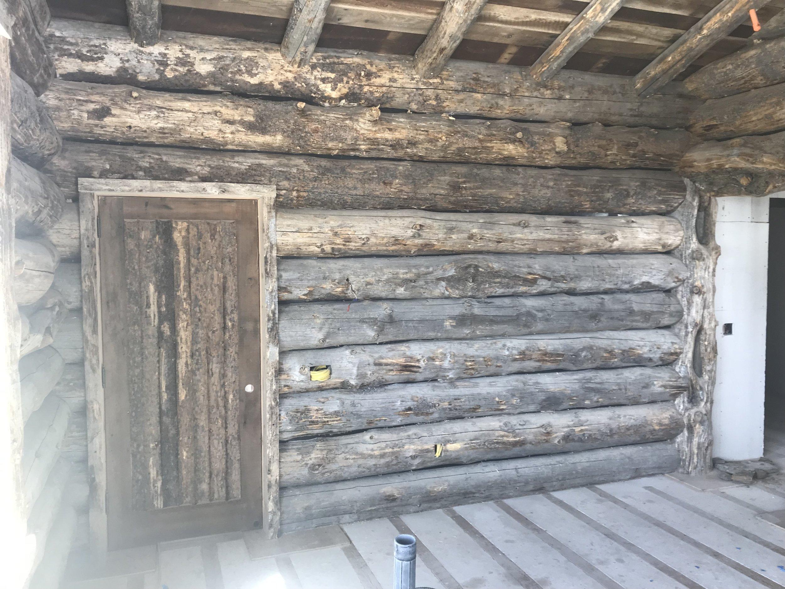 Yellowstone Club Montana Custom Home Design Log Wall surface 2.jpg