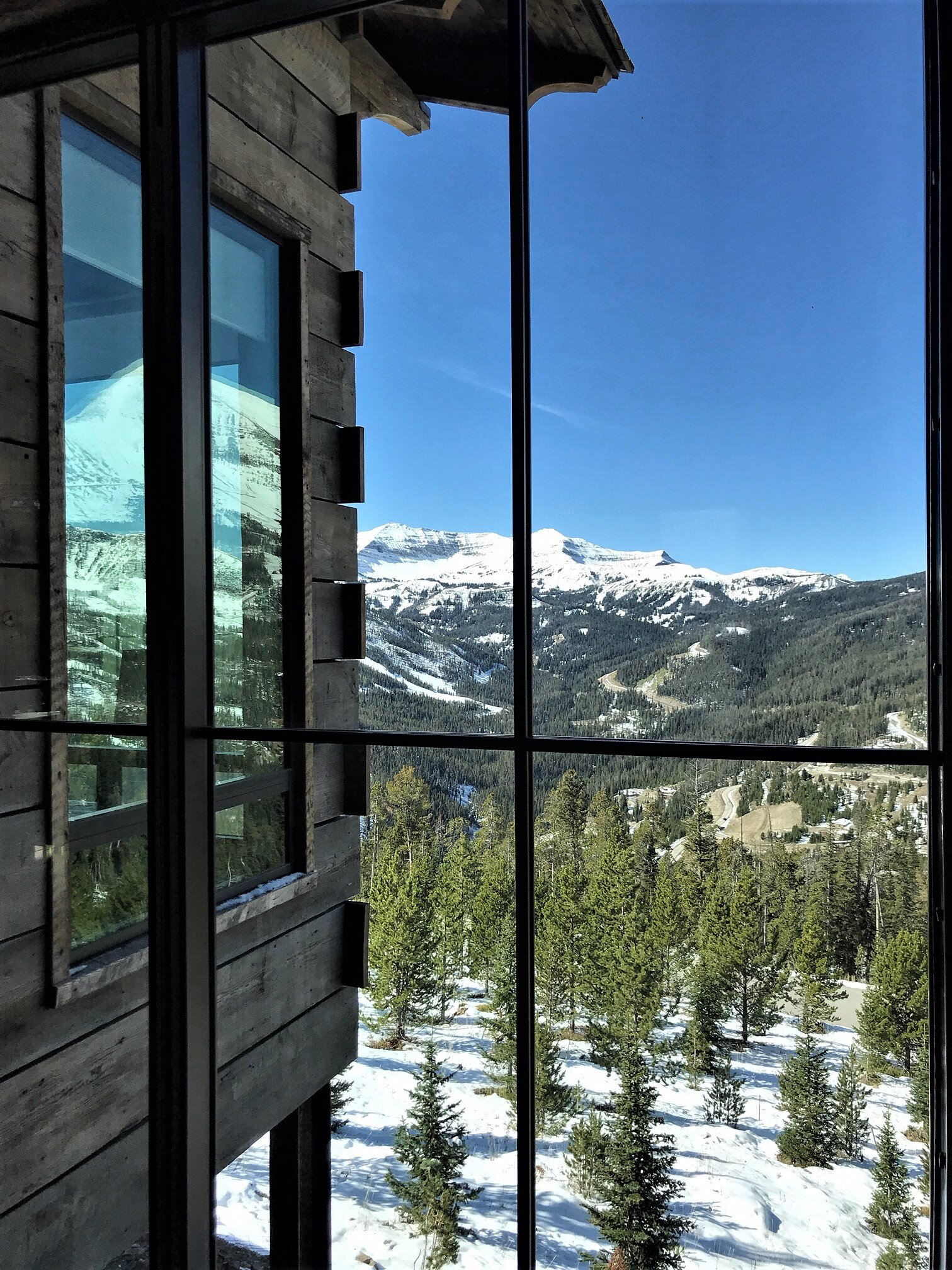 Big Sky Yellowstone Club Custom Home Mausfalle exterior window and view Oct 2019.jpg
