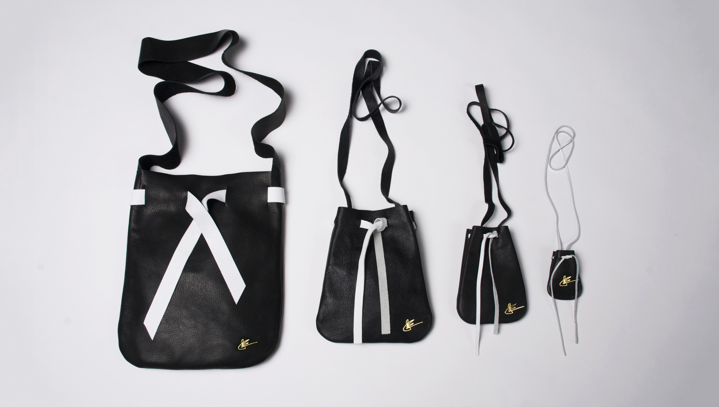 THE POUCH COLLECTION with GOLD SIGNATURE