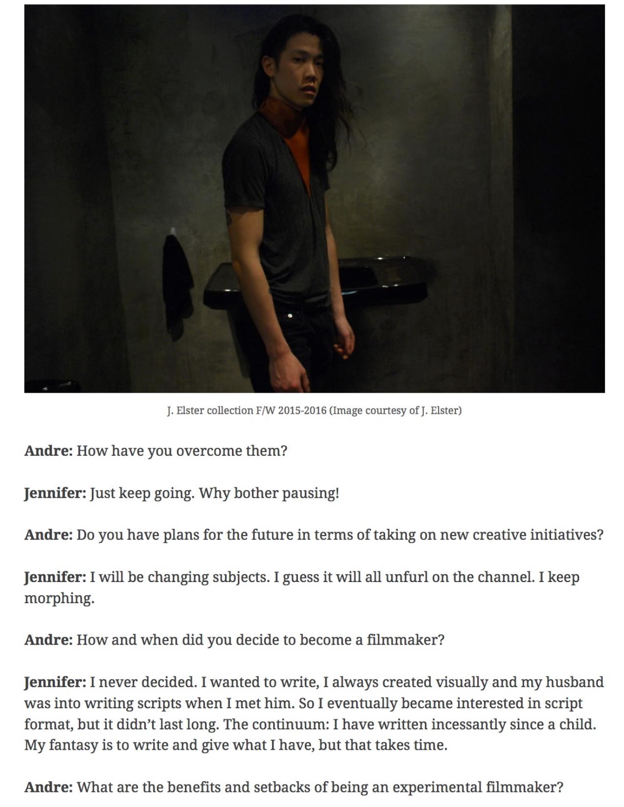 Morale Magazine - J. ELSTER - Jennifer Elster
