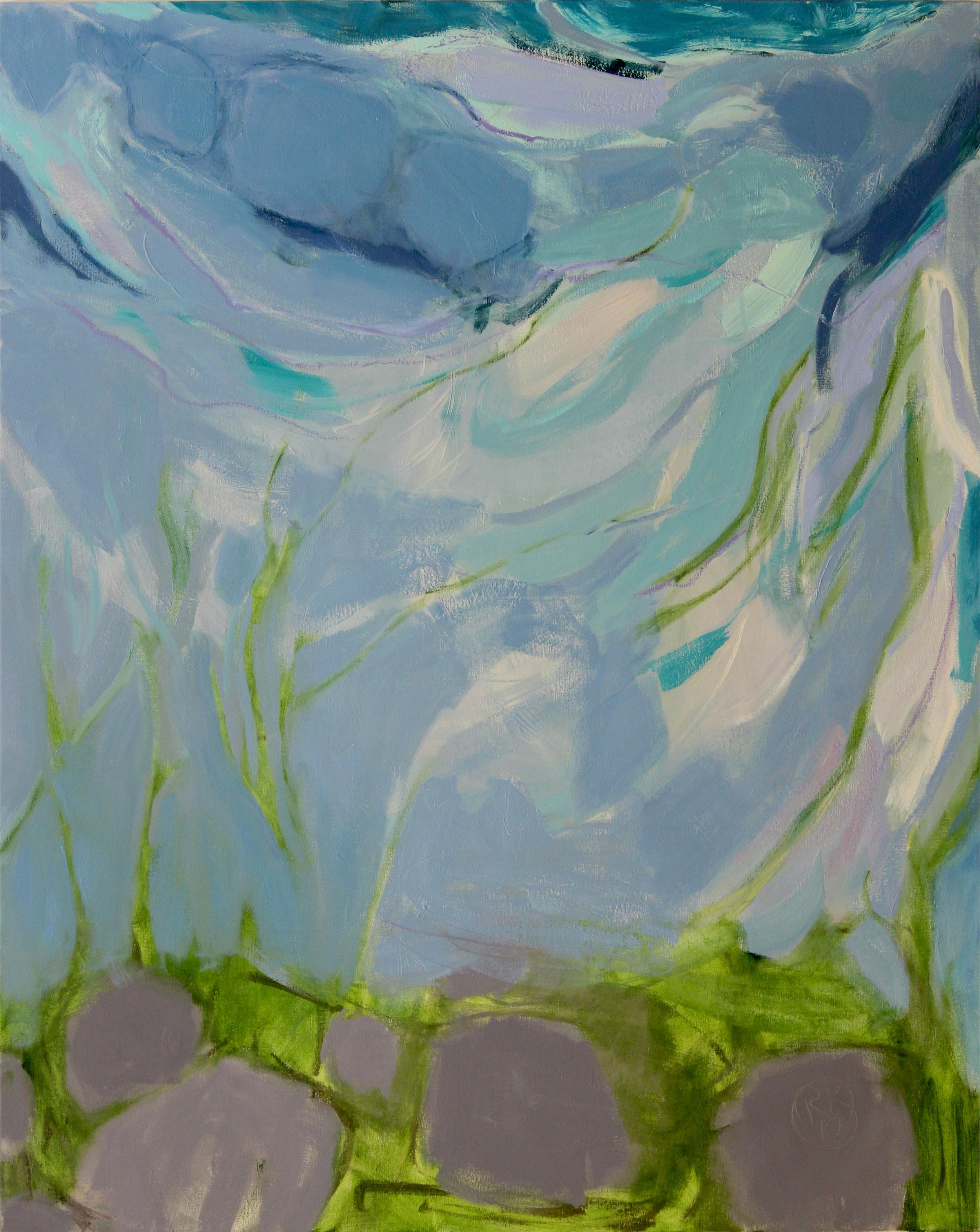 Air, moss & rocks, II