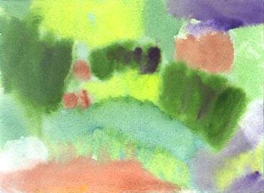 Old Westbury Gardens Watercolor Sketch 6