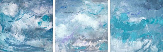 Stormy Sky (triptych)