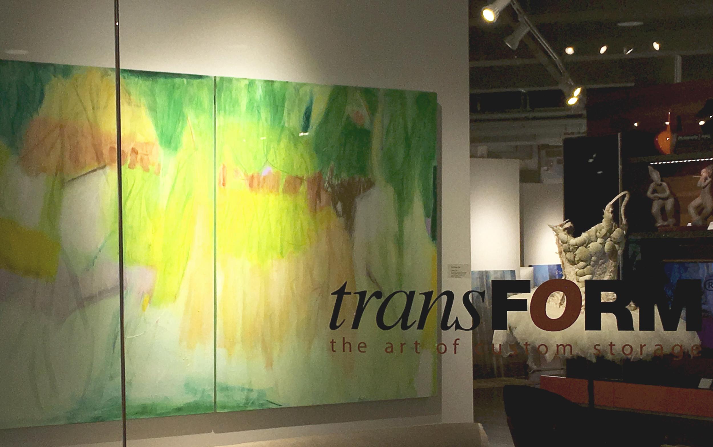 Installation photo: Rachelle Krieger @transFORM Gallery, NYC