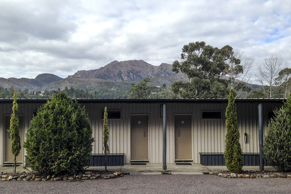 Accommodation in Queenstown.