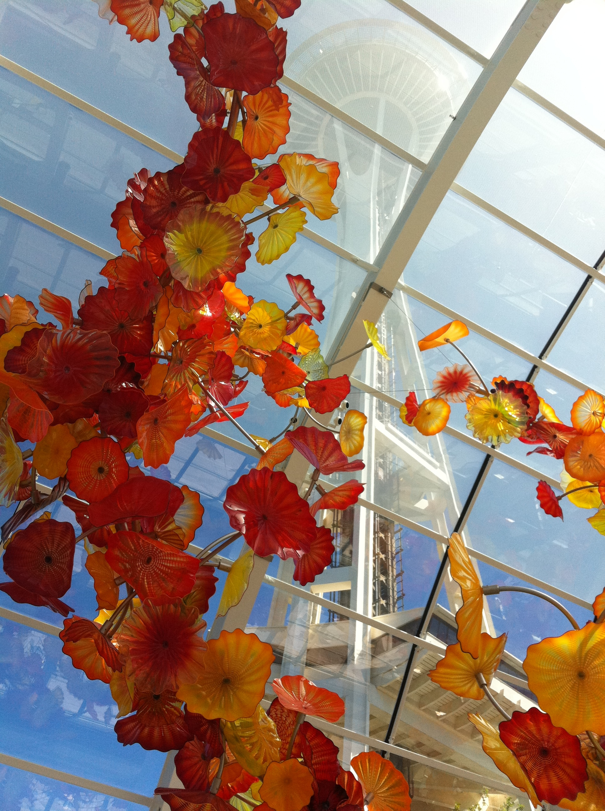 Chihuly Garden and Glass Seattle by drawntocities.com