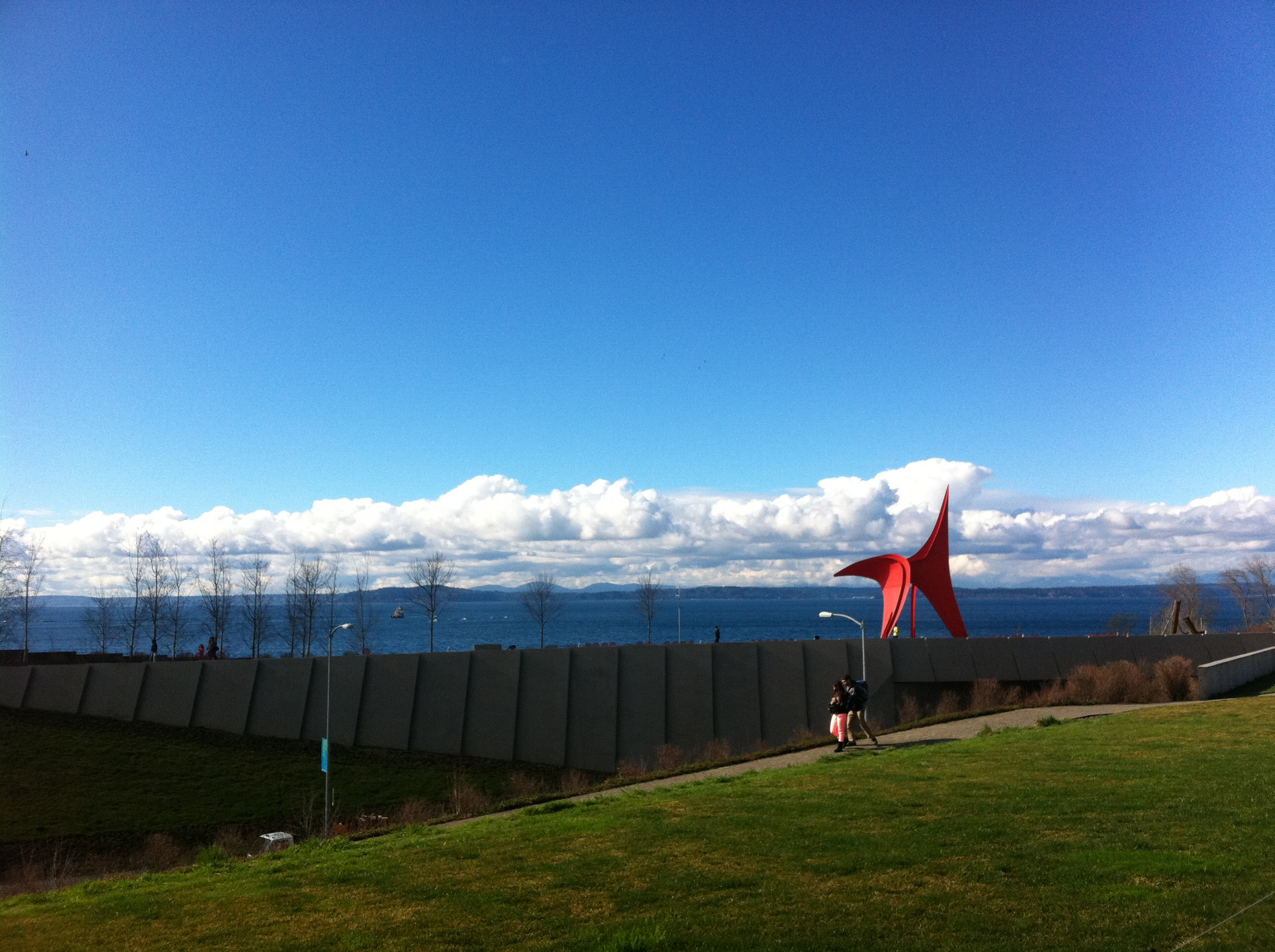 Olympic Sculpture Park Seattle by drawntocities.com